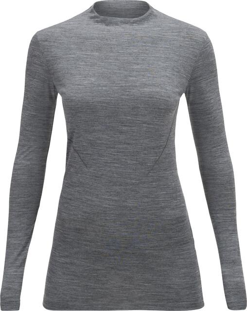 Peak Performance W's Civil LS Shirt Grå Melange